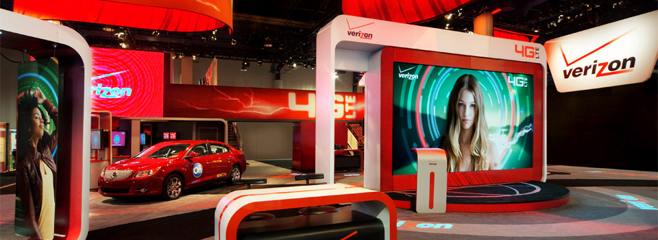 Verizon Wireless Booth - Consumer Electronics Show 2011