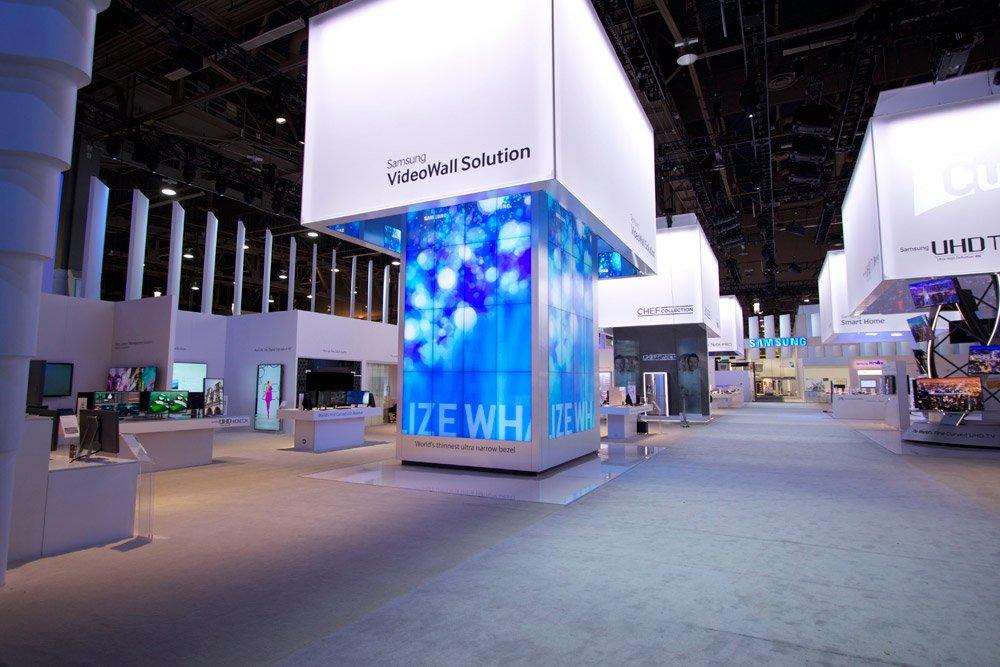 2014 Ces Samsung Exhibit Fine Design Associates