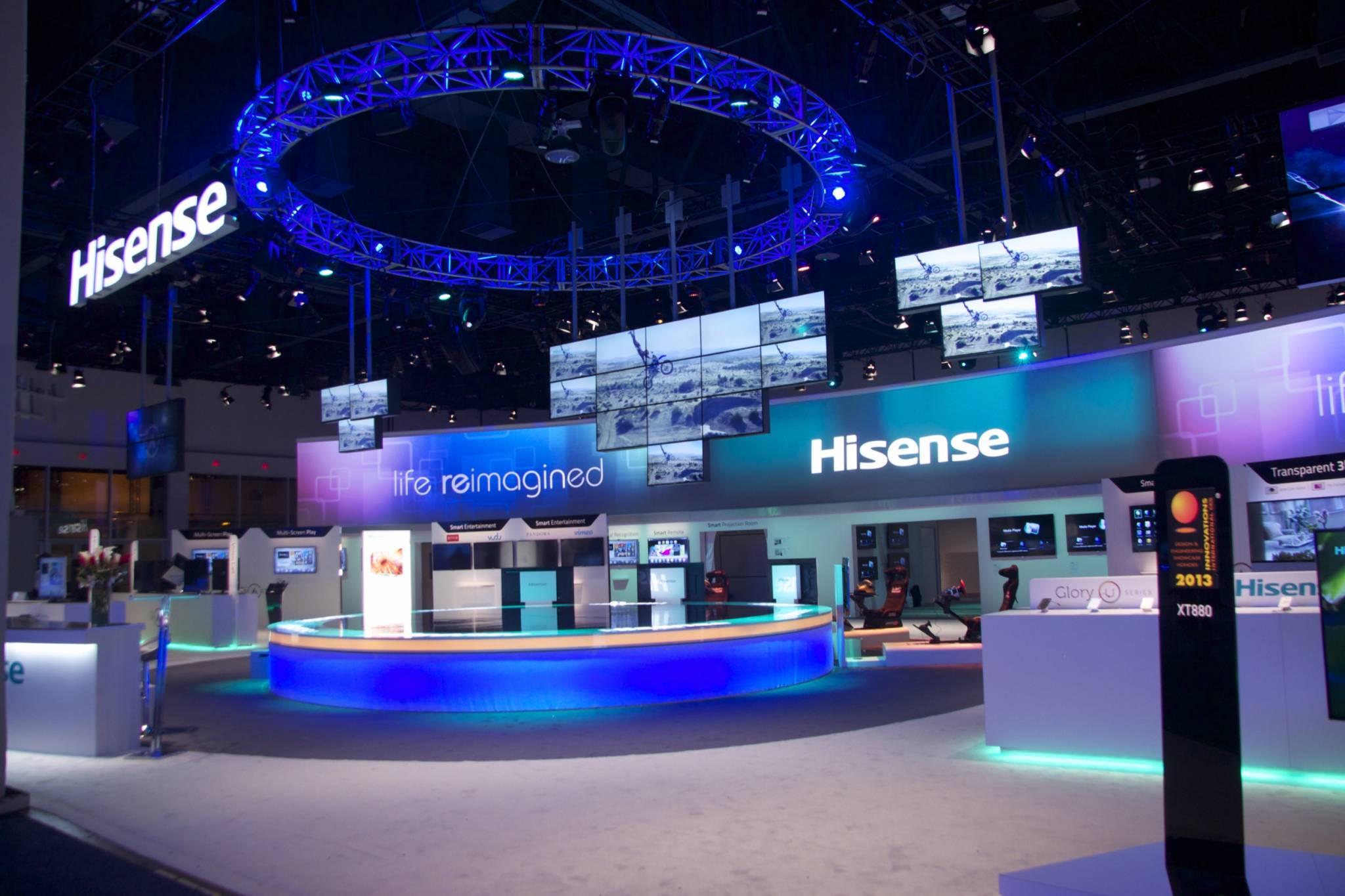 Ces Hisense Consumer Electronics Show Fine Design