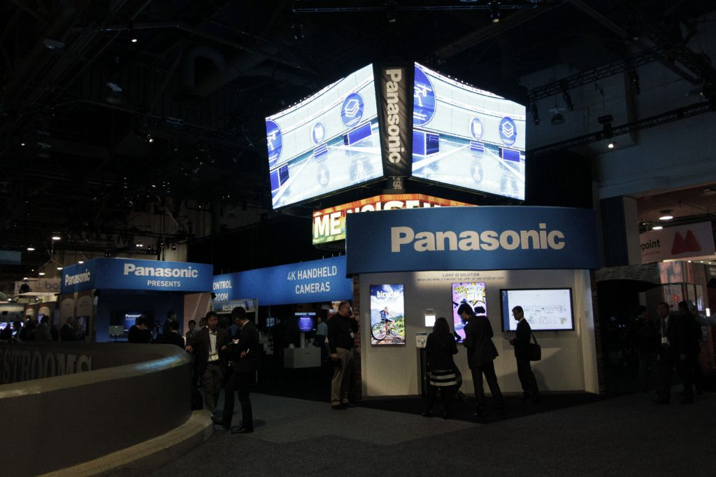 Panasonic Exhibit at NAB 2017