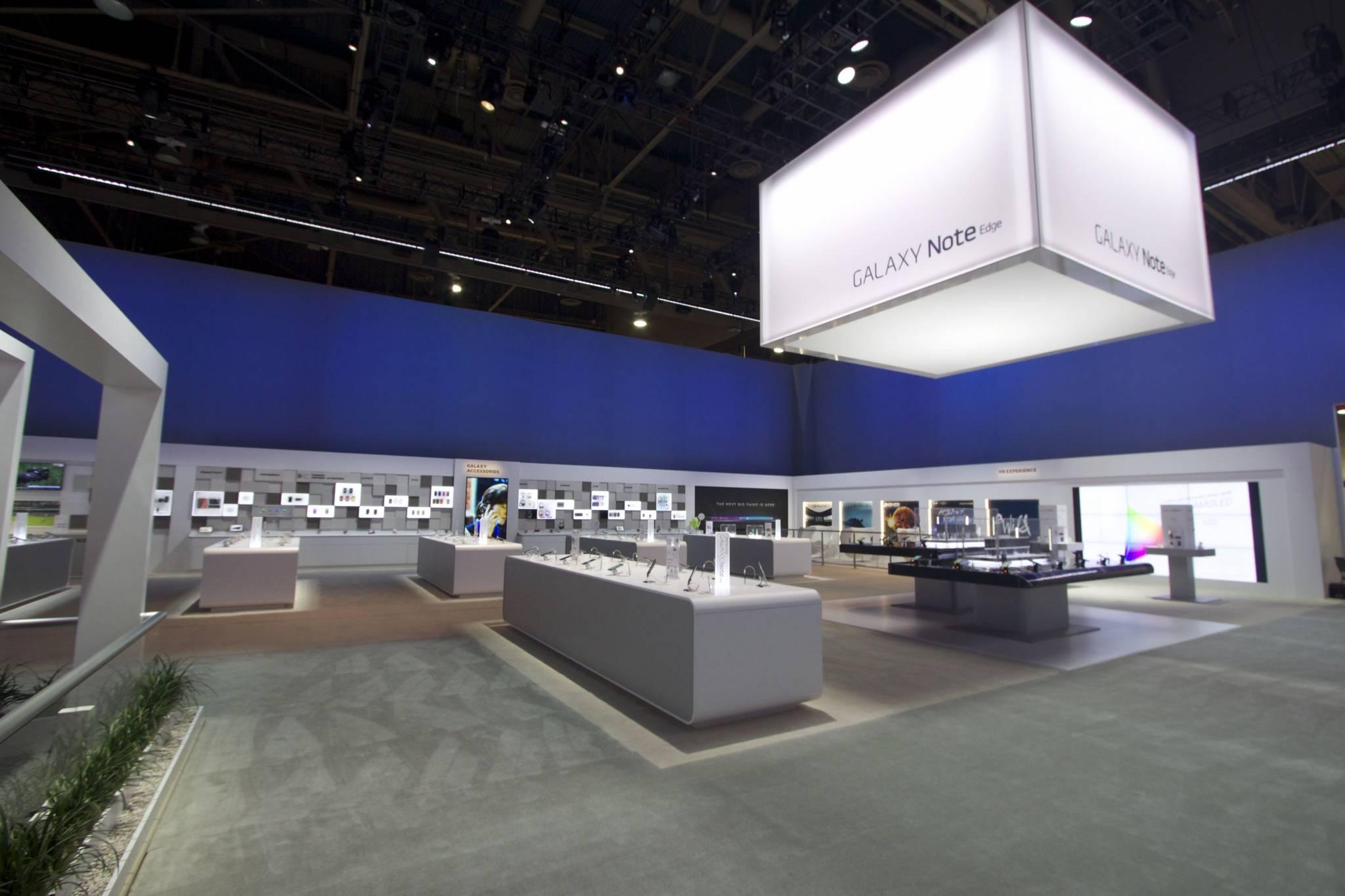 Samsung Ces 2017 Exhibit Lighting